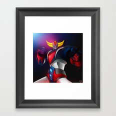 Pulp Goldorak Framed Art Print