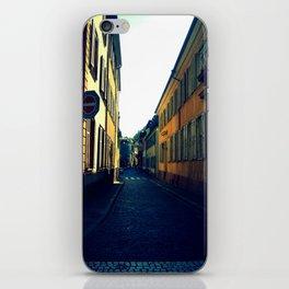 Simple Cobblestone Street. iPhone Skin