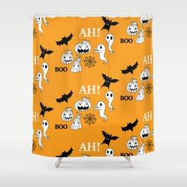 Pattern Halloween 1 Shower Curtain