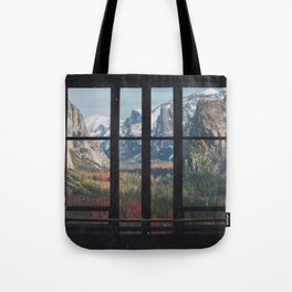 Yosemite Window Tote Bag