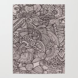Doodle 8 Poster