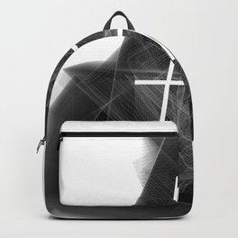 Hashtag typographic treatment.  Dark Math. # Backpack