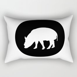 Babirusa Rectangular Pillow
