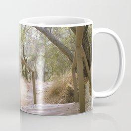 Small Bridge In The Woods Coffee Mug