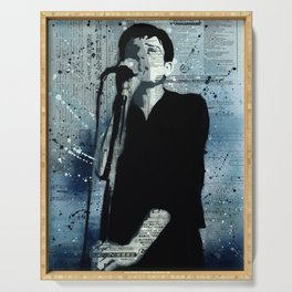 *IAN CURTIS/STENCIL* Serving Tray