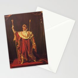 Napoleon I in His Imperial Robes Stationery Cards