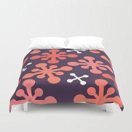 Flower Jacks Duvet Cover