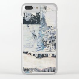 Ode to Denia, Spain (Exhibit D) Clear iPhone Case