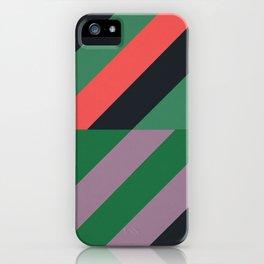 Modernist Geometric Graphic Art iPhone Case