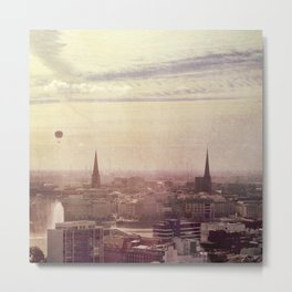 Hamburg sunrise Metal Print