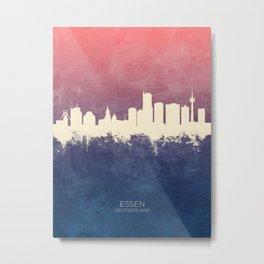 Essen Germany Skyline Metal Print
