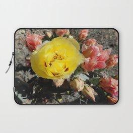 Prickly Pear Blooms Laptop Sleeve
