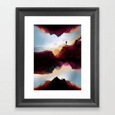 Learning from the past Framed Art Print