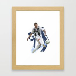 CR7 Juve Framed Art Print
