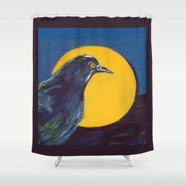 Awakening (American Crow) Shower Curtain