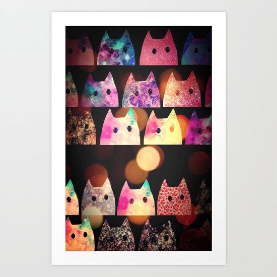 cat-93 Art Print