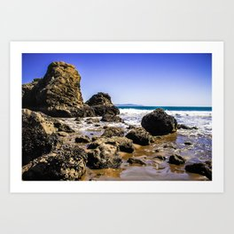 Sunny Day at Muir Beach Art Print
