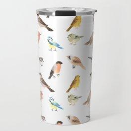 British Birds Travel Mug