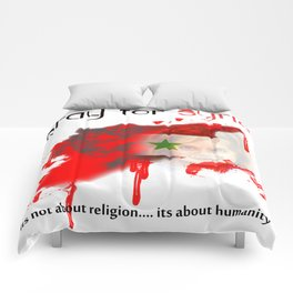 Pray for syria Comforters