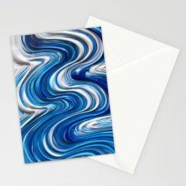 Brush Stroke Stationery Cards