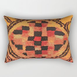 Tribal Shaman Badge Rectangular Pillow