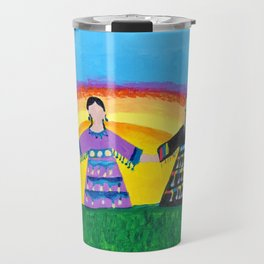 Jingle Dress Sisters Travel Mug