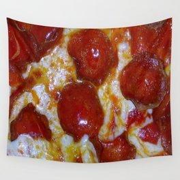 Pepperoni Pizza 🍕 Wall Tapestry