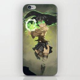Anime Magic iPhone Skin