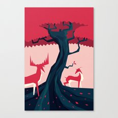 Where they met Canvas Print