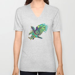 Eagle, cool wall art for kids and adults alike Unisex V-Neck