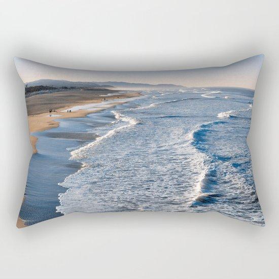 Lands End Beach Rectangular Pillow