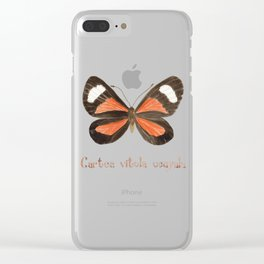 Butterfly - Cartea vitula ucayala Clear iPhone Case