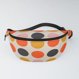 Retro 70s Polka Dots Fanny Pack