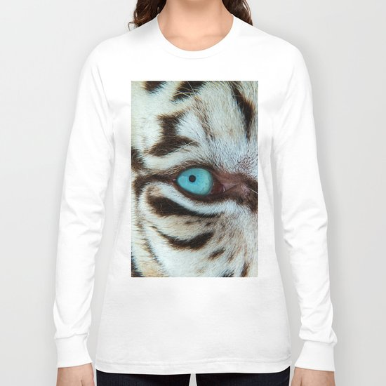 WHITE TIGER BEAUTY Long Sleeve T-shirt