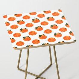 Peach Harvest Side Table