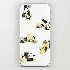 Panda and Cub iPhone & iPod Skin