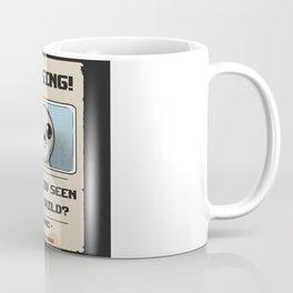 Missing Poster Coffee Mug