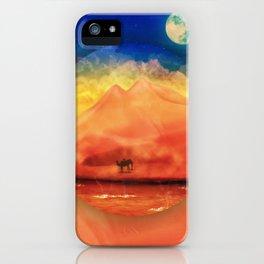 Desert Hot iPhone Case