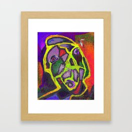 There is an object to be considered: the fly Framed Art Print