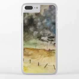 Tornadoes Clear iPhone Case