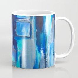 Blue Geometry Coffee Mug