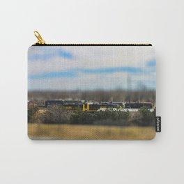 Train by Monique Ortman Carry-All Pouch