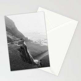 Cliff View Point Reyes California - 35mm film Stationery Cards