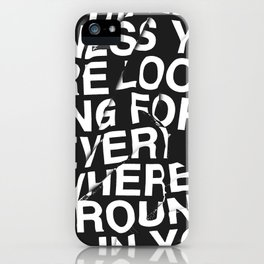 IN YOU iPhone Case