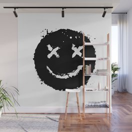 Confused Smile Wall Mural