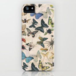 Insect Jungle iPhone Case