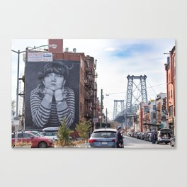 Williamsburg, Brooklyn Canvas Print