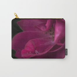 A fuchsia rose in the dark Carry-All Pouch