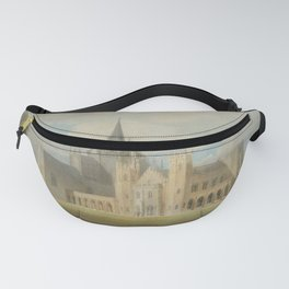 "J.M.W. Turner ""Fonthill Abbey in Wiltshire, England from the south west"" Fanny Pack"