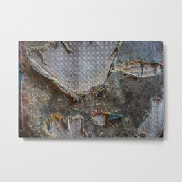 Distressed Abstract Metal Print